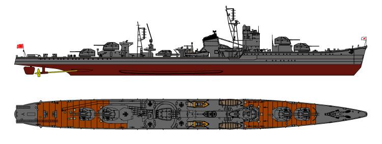 SPW08 1/700 日本海軍 特型駆逐艦 東雲