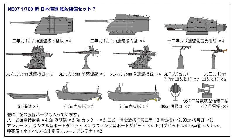 SPW28 1/700 日本海軍 吹雪型駆逐艦 朧(おぼろ)