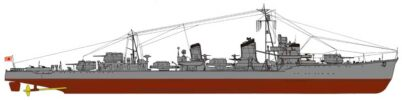 SPW35 1/700 日本海軍 駆逐艦 朝潮型 朝雲
