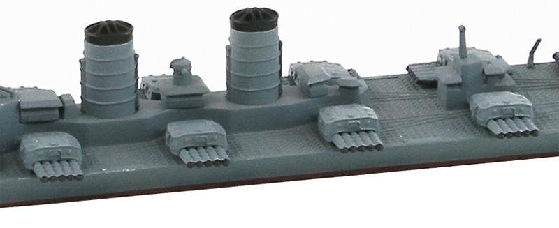 SPW38 1/700 日本海軍 超重雷装艦 北上 五連装魚雷発射管装備仕様