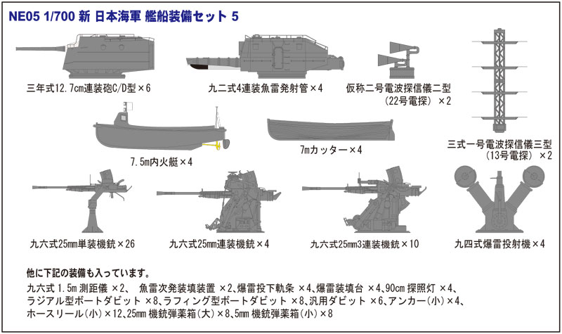 SPW40 1/700 日本海軍 駆逐艦 白露型 夕立