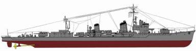 SPW43 1/700 日本海軍 朝潮型駆逐艦 霞