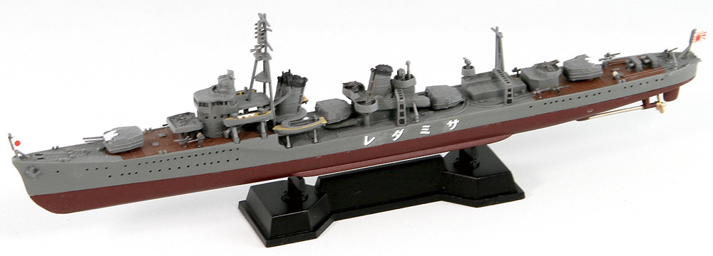 SPW46 1/700 日本海軍 白露型駆逐艦 五月雨 新装備パーツ付き