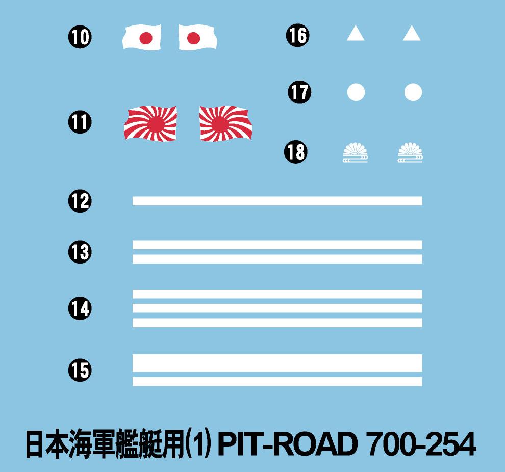 SPW65 1/700 日本海軍 駆逐艦 夕雲型 岸波