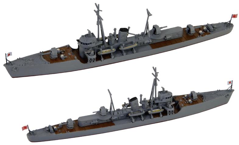 SPW70 1/700 日本海軍 択捉型海防艦 佐渡・隠岐