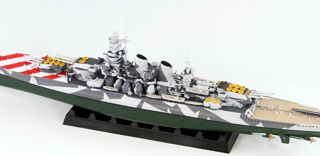 W183 1/700 イタリア海軍 戦艦 ローマ 1943