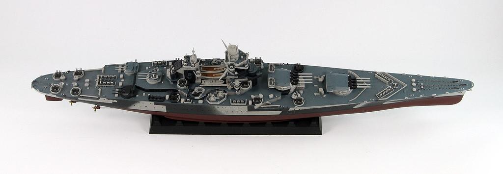 W184 1/700 フランス海軍 戦艦 リシュリュー 1943/1946