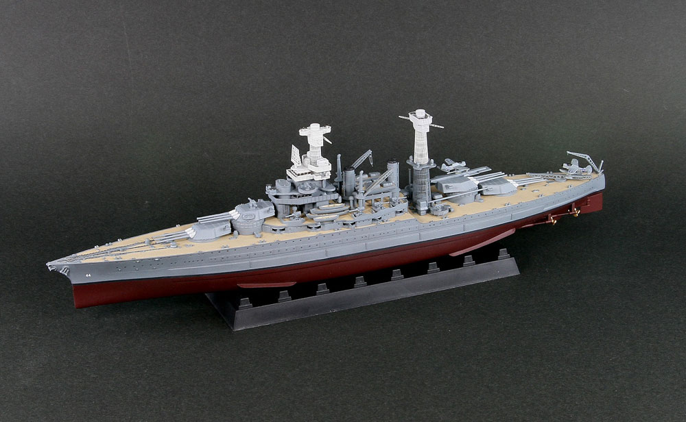 W187 1/700 WWII アメリカ海軍 戦艦 BB-44 カリフォルニア 1941