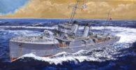 W190 1/700 日本海軍 峯風型駆逐艦 夕風 フルハルモデル