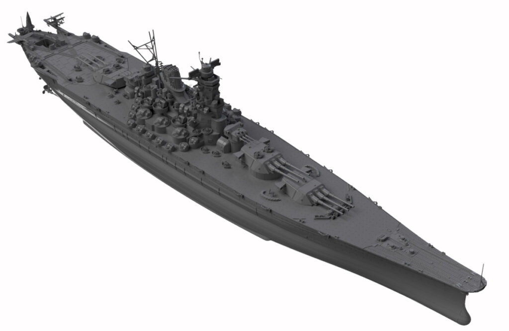 W200 1/700 日本海軍 戦艦 大和 最終時