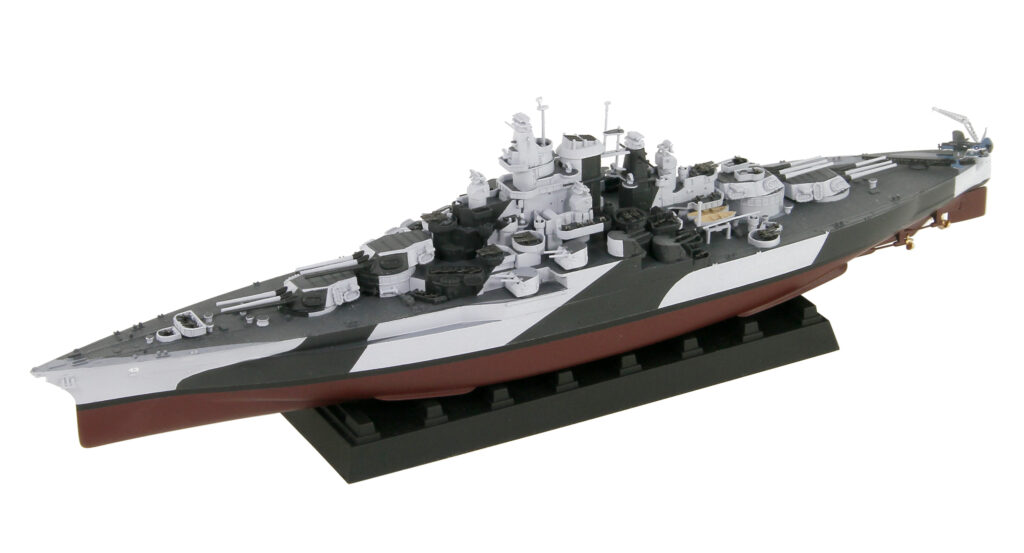 W202 1/700 アメリカ海軍 戦艦 BB-43 テネシー 1944