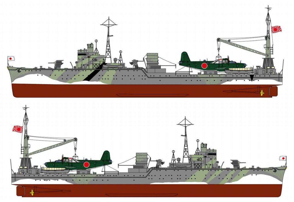 W203 1/700 日本海軍 水上機母艦 秋津洲