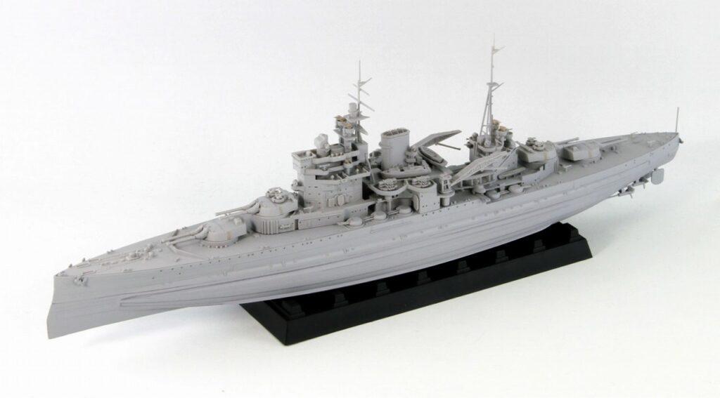 W206 1/700 イギリス海軍 戦艦 クイーン・エリザベス 1941