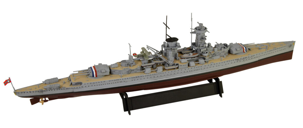 W216 1/700 ドイツ海軍 装甲艦 アドミラル・グラーフ・シュペー 1937