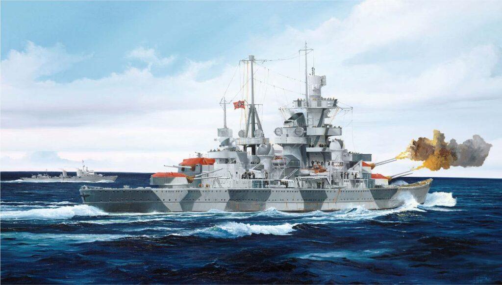 W219 1/700 ドイツ海軍 重巡洋艦 アドミラル・ヒッパー 1941