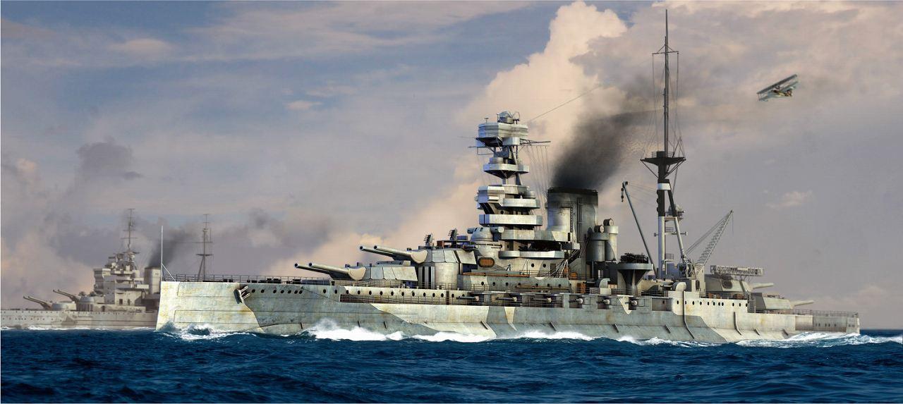 W220 1/700 イギリス海軍 戦艦 バーラム 1941