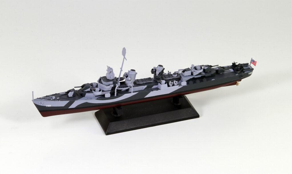 W224 1/700 アメリカ海軍 フレッチャー級駆逐艦 DD-792 キャラハン