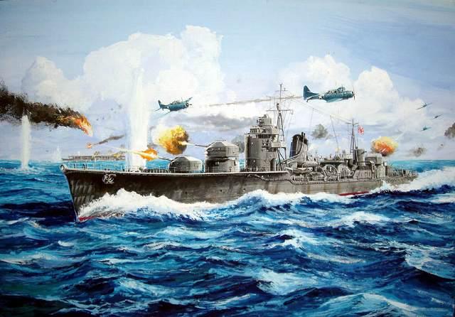 W84 1/700 日本海軍 秋月型 防空駆逐艦 照月 1942