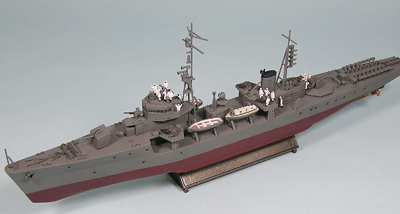 WB01 1/350 日本海軍 海防艦 鵜来(三式投射機装備型)