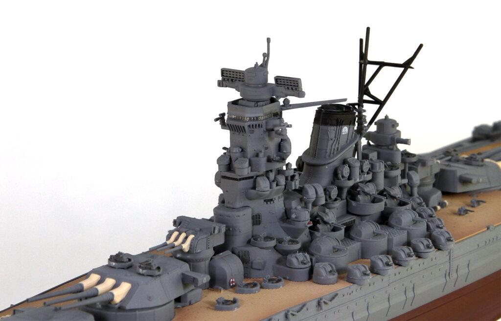 WPM01 1/700 日本海軍 戦艦 大和 最終時 塗装済み完成品