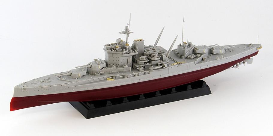 W217 1/700 イギリス海軍 戦艦 ウォースパイト 1942