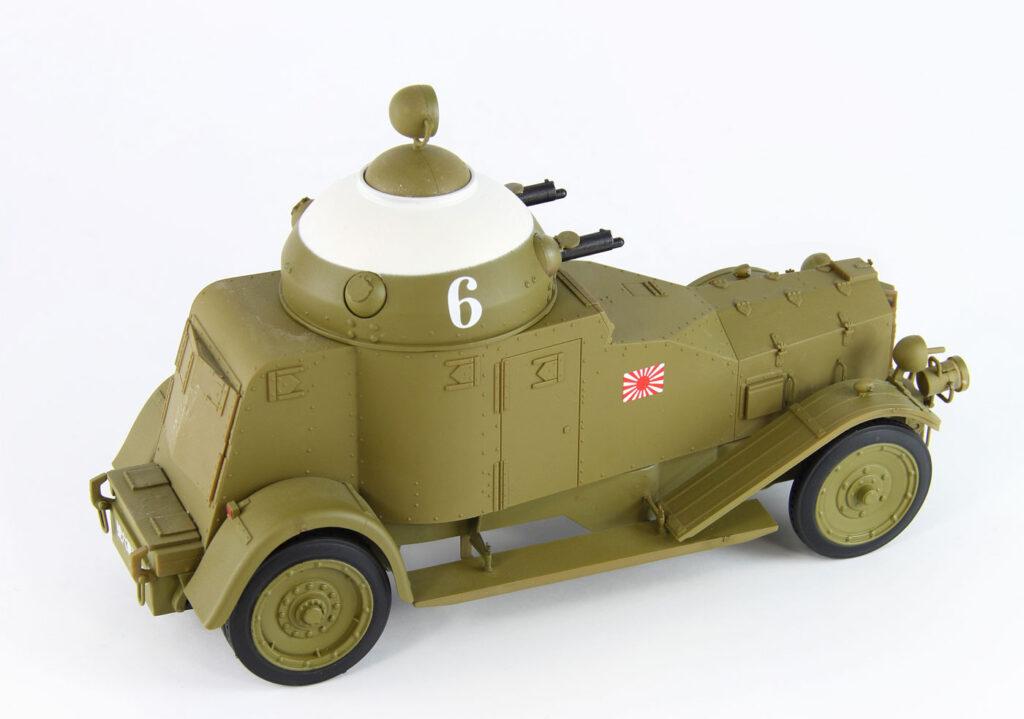 G53 1/35 日本海軍 陸戦隊 クロスレイ M25 装甲車