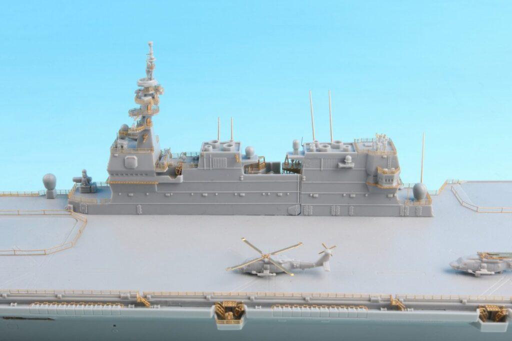 GB7014 1/700 海上自衛隊 護衛艦 いずも型用 グレードアップパーツセット
