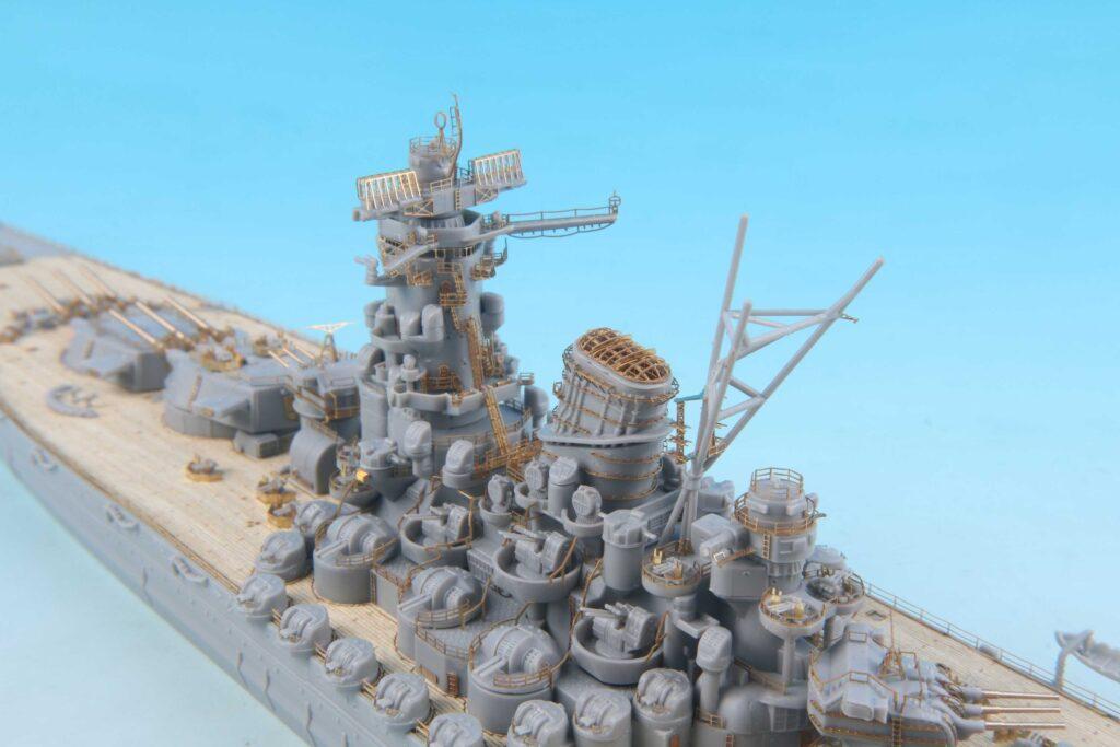 GB7015 1/700 日本海軍 戦艦 大和 最終時用 純正グレードアップパーツセット