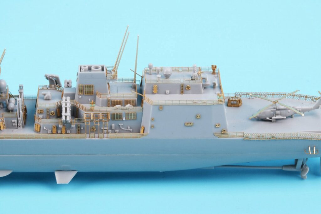 GB7019 1/700 海上自衛隊 護衛艦 DD-119 あさひ型用 純正グレードアップパーツセット