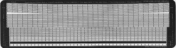 GM3518 1/350 アメリカ海軍 精密手すり