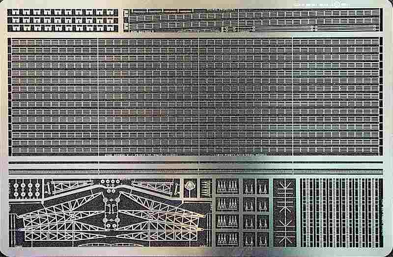 GM6003 1/600 イギリス海軍 キングジョージV世級用 エッチングパーツ