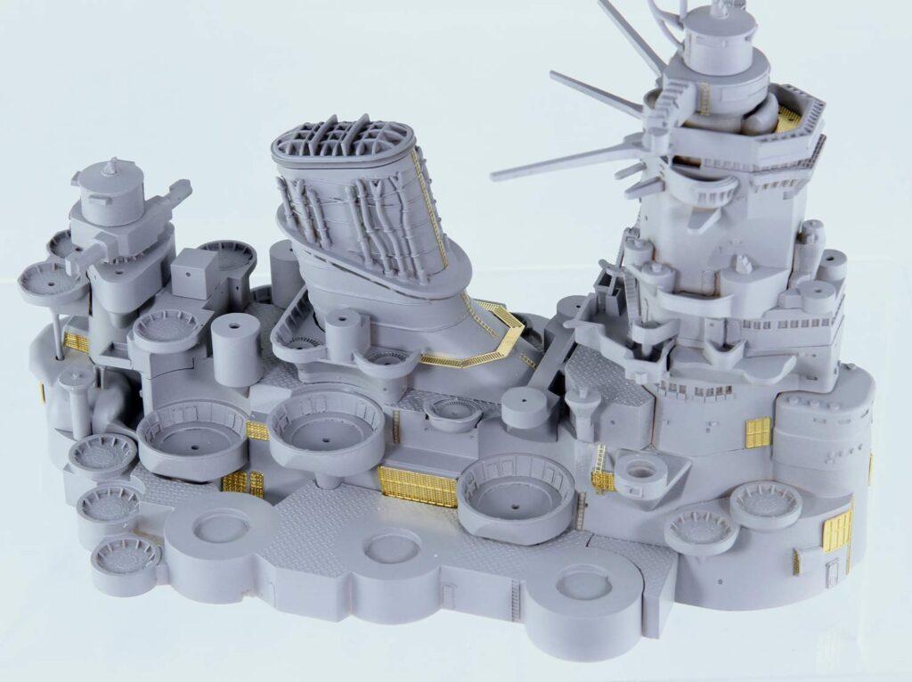 HMG06 1/350 日本海軍 戦艦 大和 最終時用 艦橋