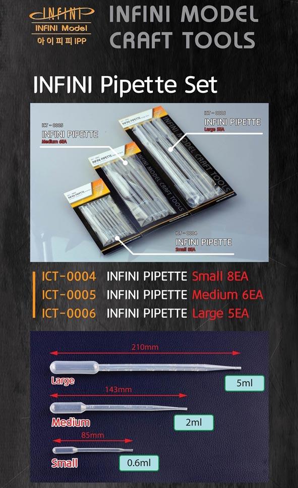 ICT0006 スポイトセット(大) 5本入り