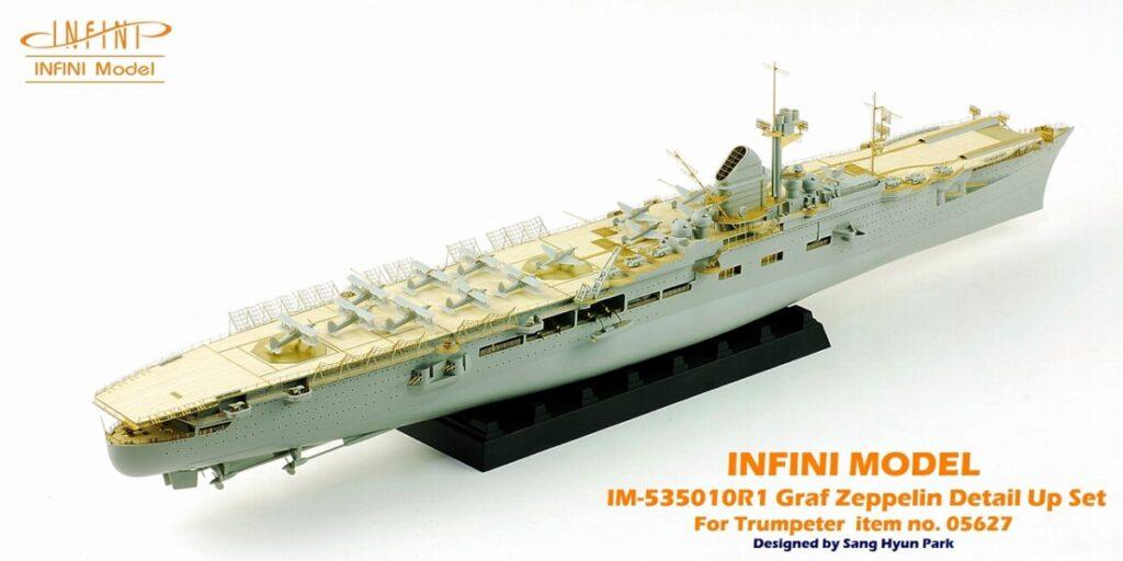 IM53510 1/350 ドイツ海軍 空母 グラーフ・ツェッペリン(TR社)用 ディテールアップパーツセット