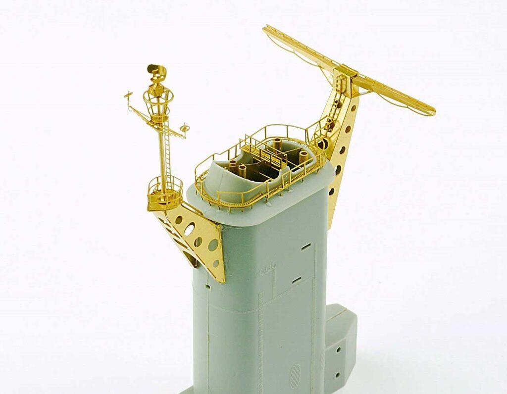 IMS3502 1/350 アメリカ海軍 大型巡洋艦 アラスカ CB-1(HB社)用 真ちゅうマストセット