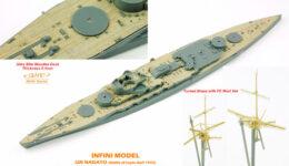 IMW7005 1/700 日本海軍 戦艦 長門 1944(F社)用 木製甲板セット