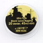 IR0201 ウルトラファインリギング(直径0.048mm×45m 黒色 1/700用)