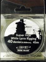 IR0402 スーパーファインリギング(直径0.068mm×45m 白色 1/700~1/350用)