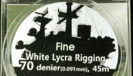 IR0702 ファインリギング(直径0.091mm×45m 白色 1/350用)