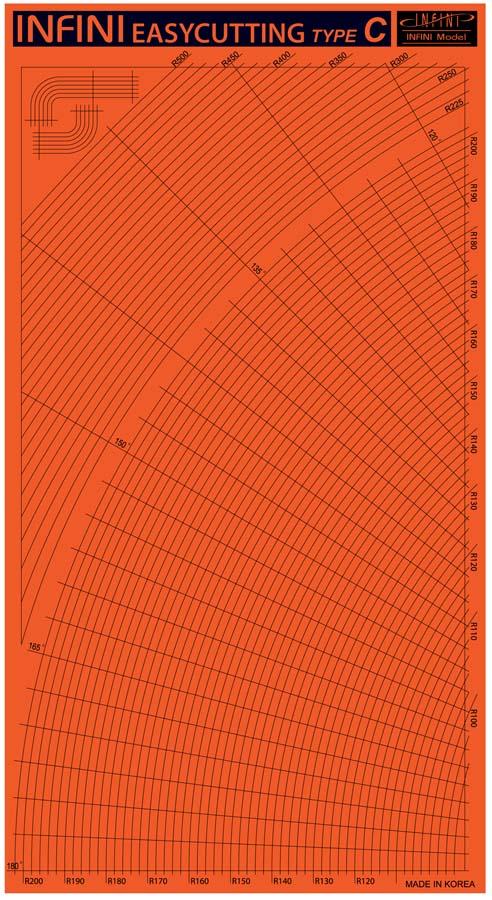 IT3003 イージーカッティングマットC(曲線)