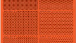 IT3004 イージーカッティングマットD(45度、60度)