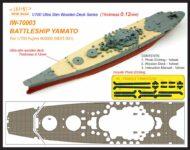 IW7003 1/700 日本海軍 戦艦 大和(F社460000 NEXT001)用 木製甲板 エッチングパーツ付き