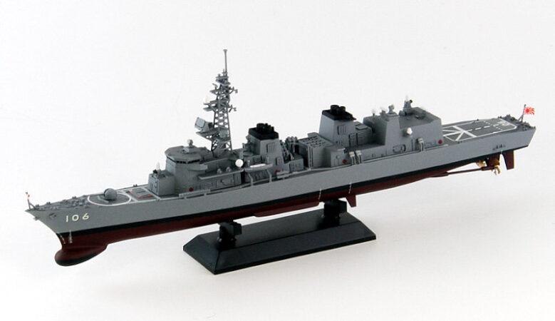 J68 1/700 海上自衛隊 護衛艦 DD-106 さみだれ 新着艦標識デカール付き