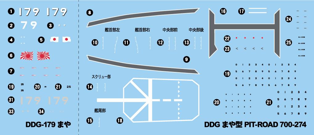 J89 1/700 海上自衛隊 護衛艦 DDG-179 まや