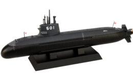 JBM06 1/350 海上自衛隊 潜水艦 SS-501 そうりゅう 塗装済み半完成品