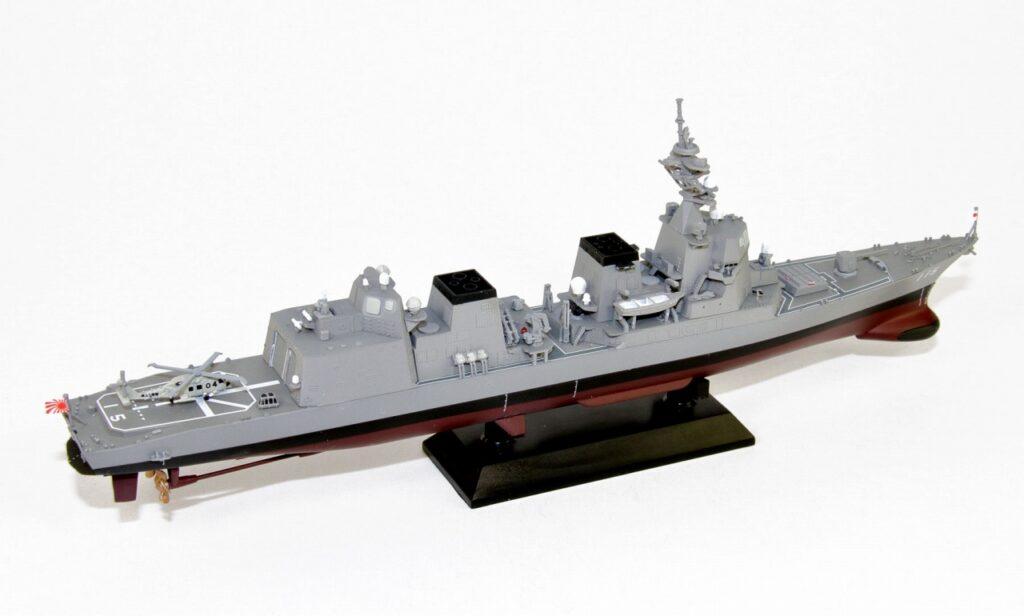 JP13 1/700 海上自衛隊 護衛艦 DD-115 あきづき 塗装済みプラモデル