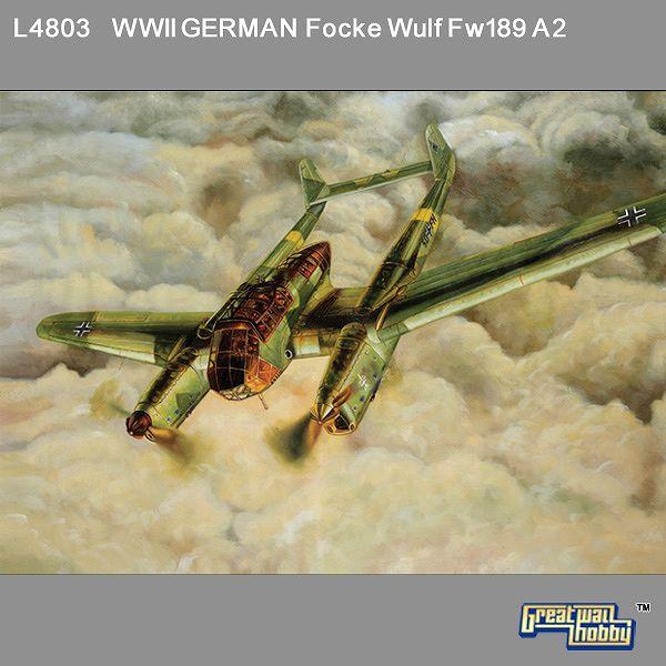 L4803 1/48 WWII ドイツ空軍 偵察機 フォッケウルフ Fw189 A-2