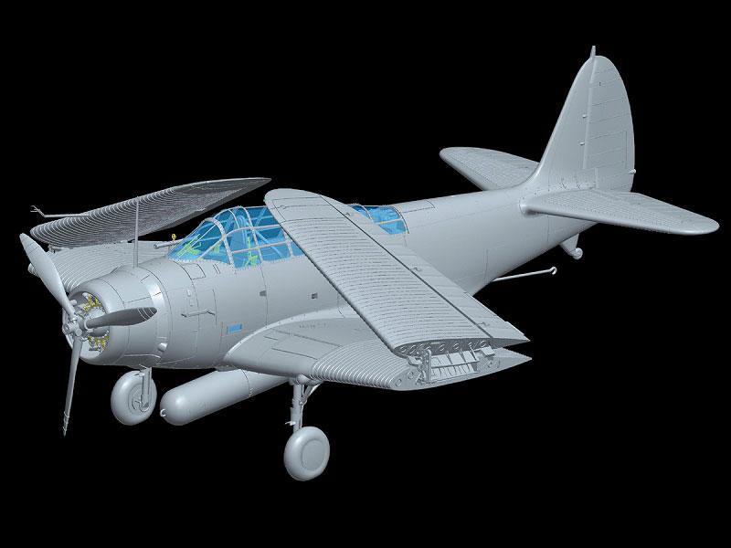 L4807 1/48 ダグラス TBD-1 デバステーター VT-8 ミッドウェイ 1942