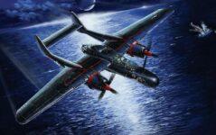 L4810 1/48 WWII アメリカ陸軍 P-61B ブラックウィドウ ラストショットダウン1945