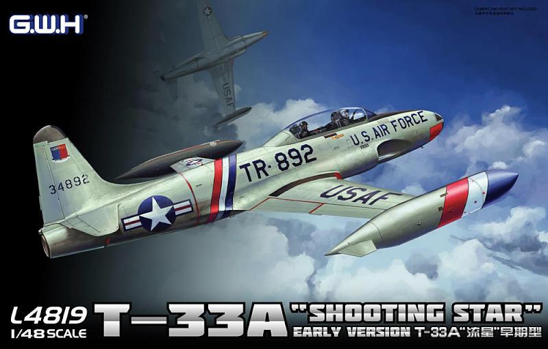 L4819 1/48 T-33A 練習機 初期型 アメリカ・ドイツ・イタリア軍仕様